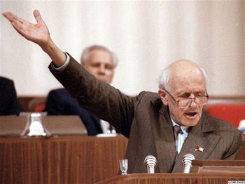 Андрей Сахаролв. 20 лет назад: Съезд народных депутатов СССР. Фото: с сайта google.lv