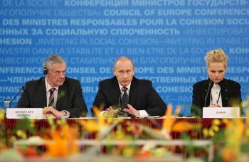 Россия может быть лишена права голоса в ПАСЕ. Фото: ALEXEY DRUZHININ/AFP/Getty Images