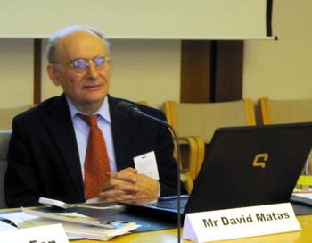 Дэвид Мэйтас, международный  адвокат-правозащитник, соавтор книги