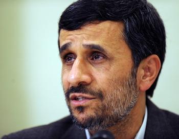 Президент Ирана Махмуд Ахмадинежад. Фото: EVARISTO SA/AFP/Getty Images