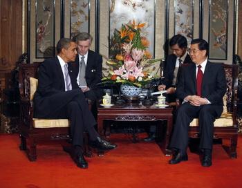 Барак Обама: Противоборство США и Китая не предопределено. Фото: ЕЛИЗАВЕТЫ Далзил / AFP / Getty Images