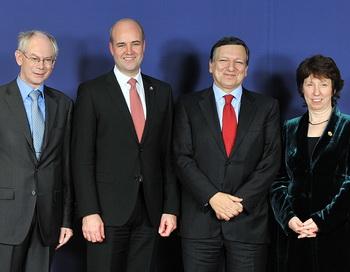 Избрание руководящей тройки Евросоюза позволит усилить международные позиции ЕС. Фото: Жорж Gobet / AFP / Getty Images