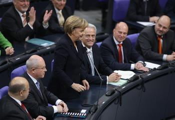 Федеральным канцлером Германии переизбрана Ангела Меркель. Фото: Andreas Rentz/Getty Images