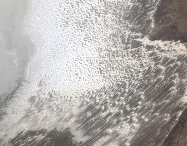Белые пески Нью-Мексико. Фото: NASA, GeoEye
