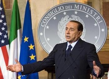 Итальянский премьер-министр Сильвио Берлускони. Фото: Jim Watson /AFP /Getty Images