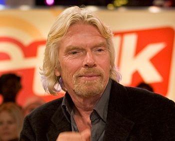 Основатель Virgin Ричард Брэнсон. Фото: wikipedia.org