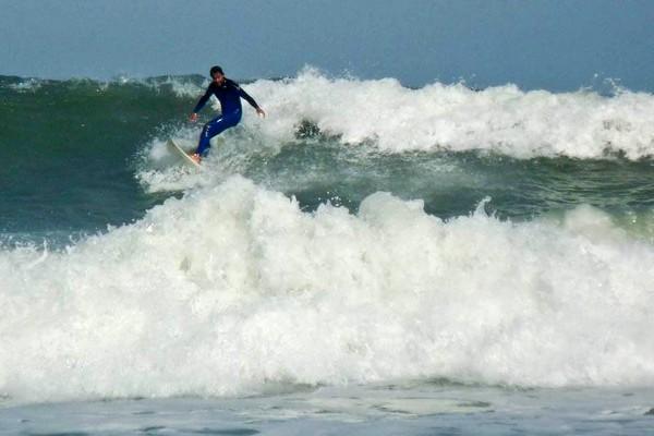Серфинг на Прая-Роза. Фото: Бернд Крегель