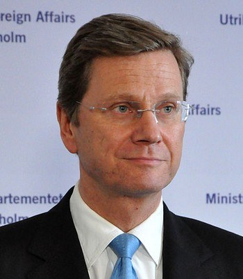 Федеральный министр иностранных дел Германии Гидо Вестервелле. Фото: wikipedia.org