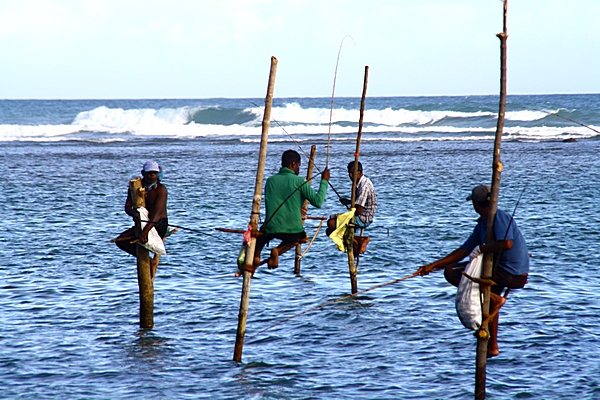 Шри-Ланка. Рыбаки. Фото: Сима Петрова/Великая Эпоха (The Epoch Times)