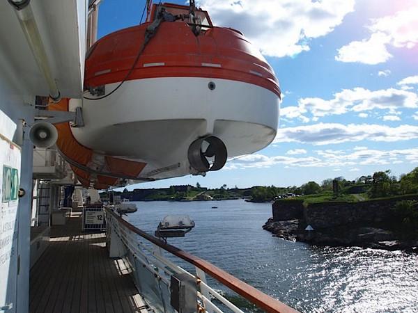 С детьми на белоснежных лайнерах Silja Line! Фото: Леся Полищук/Великая Эпоха (The Epoch Times)