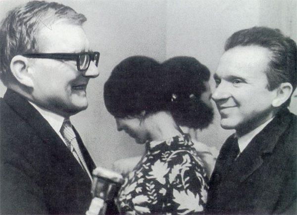 Моисей Вайнберг, Ольга Юльевна, Шостакович Фото с сайта world.lib.ru