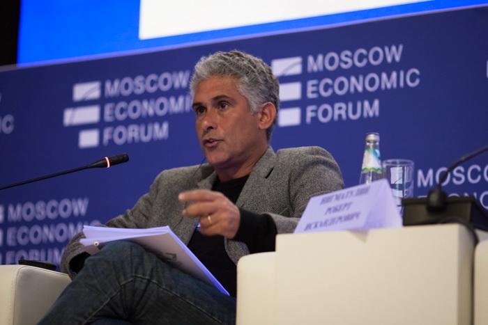 Первый Московский Экономический Форум, МГУ, Москва. Фото предоставлено пресс-службой МЭФ