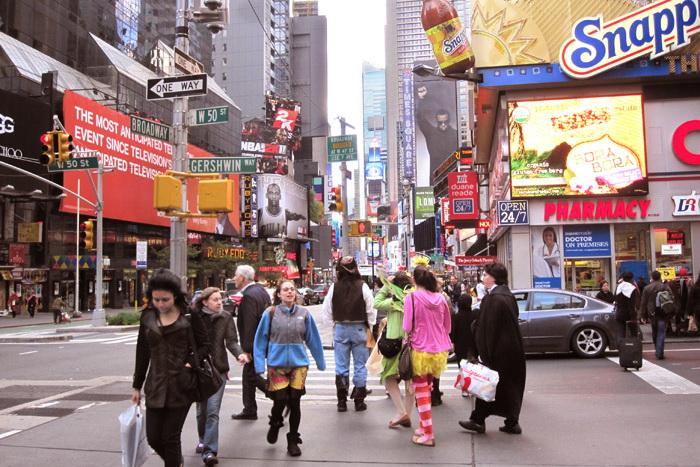 Нью-Йорк. Фото: Ирина Лаврентьева