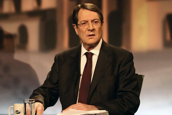 Кипр ищет пути выхода из кризиса. Президент Никос Анастасиадис. Фото: Yiannis Kourtoglou/AFP/Getty Images