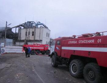 Пожар на маслозаводе в Кропоткине потушен. Фото с сайта media.baltinfo.ru