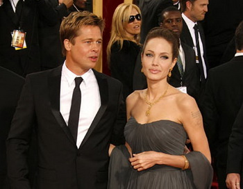 Анджелина Джоли и Брэд Питт. Фото: Getty Images
