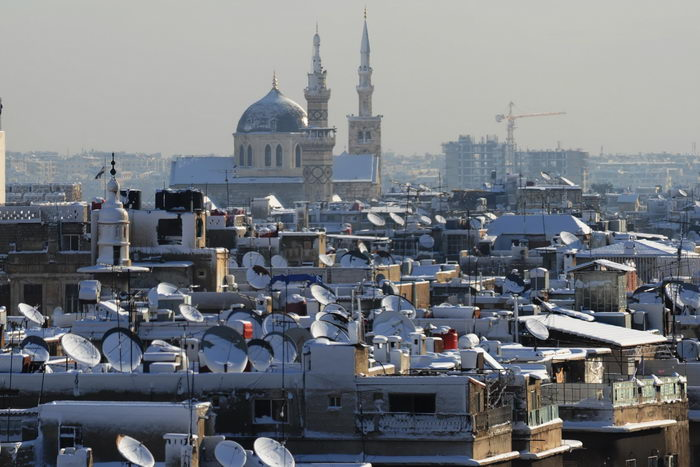 Дамаск. Фото: LOUAI BESHARA/AFP/Getty Images