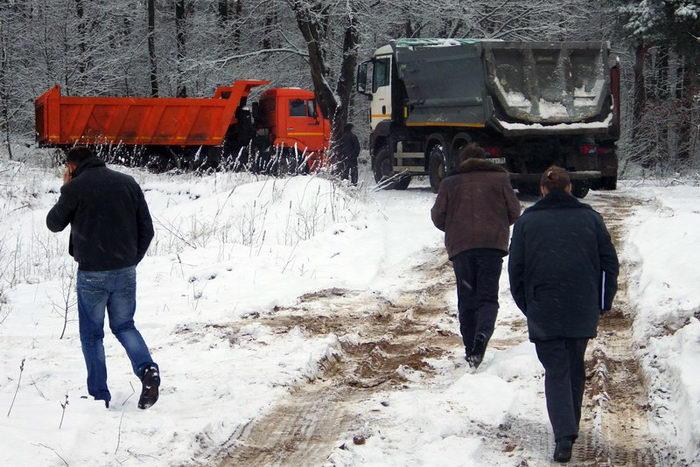 Экологи пресекли незаконную добычу песка в Багратионовском районе. Фото предоставлено пресс-службой Калининградского отделения межрегиональной экологической общественной организации