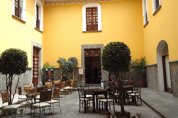 Ресторан Ла Фонда де Санта Клара. Фото: Susan James