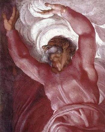 Картина «Отделение Света от Тьмы» (Микеланджело), примерно 1512 год. Фото: epochtimes.co.il