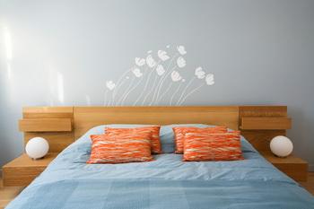Декоративная роспись стен является быстрым и эффективным способом добавить индивидуальности и оживления спальне, гостиной или офису. Фото: Photos.com