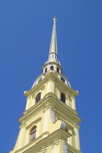На шпиль Петропавловского собора теперь тоже можно подняться. Фото: Татьяна Петрова/Великая Эпоха (The Epoch Times)