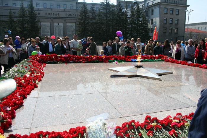 Чтим память погибших героев… Фото: Оксана Торбеева/Великая Эпоха (The Epoch Times)