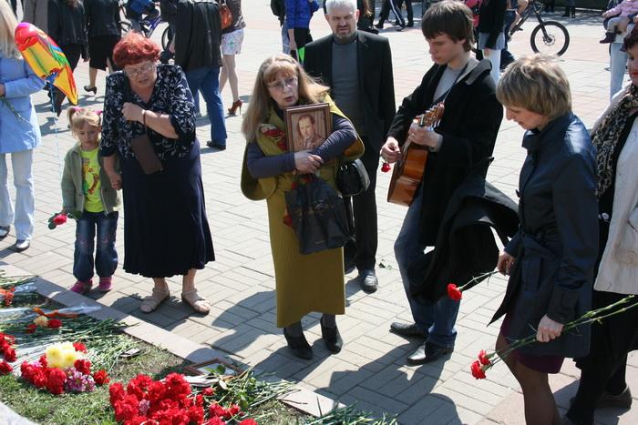 Свою песню я вам посвящаю, герои войны. Фото: Оксана Торбеева/Великая Эпоха (The Epoch Times)