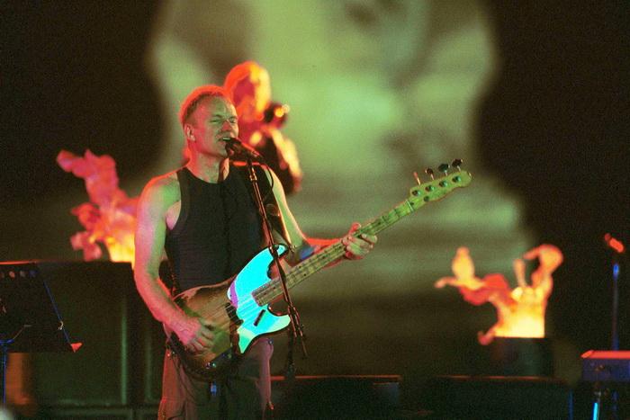 Рок-музыкант Стинг. Фото: Norbert Schiller/Newsmakers/GettyImages