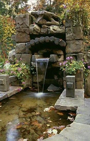Японский сад камней. Камни и вода в японском саду. Фото с сайта viimiracula.ru