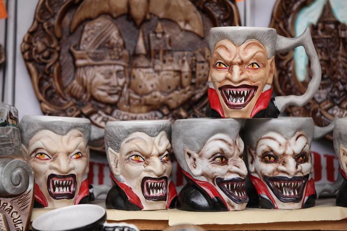Выставка о Дракуле проходит в Мадриде. Фото: Sean Gallup/Getty Images