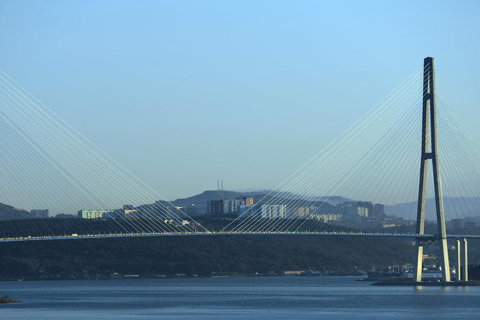Владивосток. Фото: VASILY SUVOROV/AFP/Getty Images