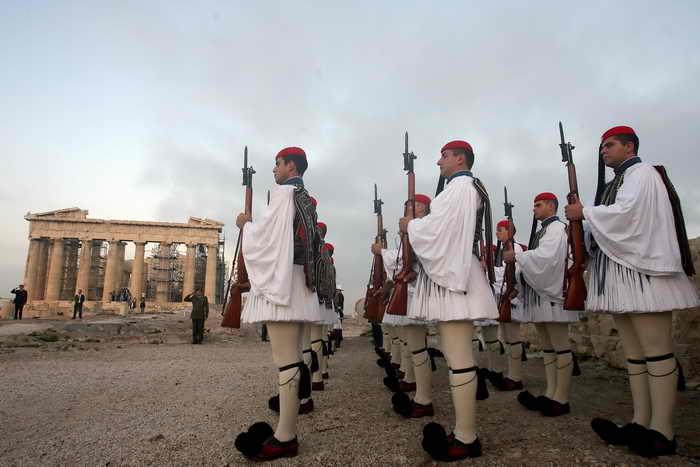 Греция. Фото: LOUISA GOULIAMAKI/AFP/Getty Images