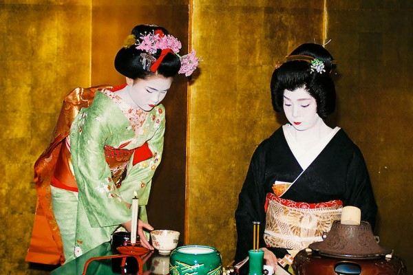 Чаепитие по японски