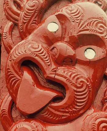 Жест маори - добро пожаловать Фото: Бернд Крегель