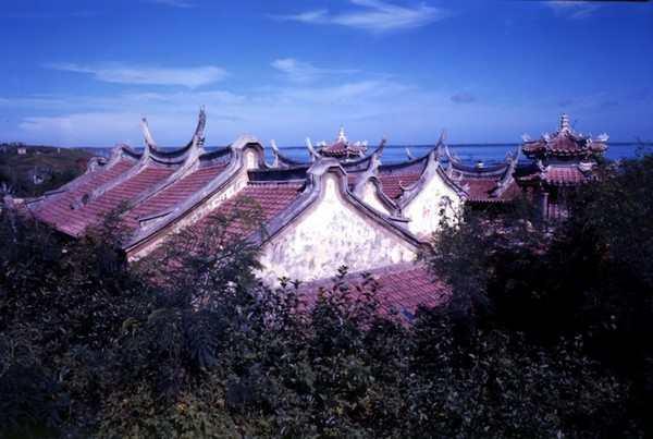 Крыши древнего храма Tianhou. (Courtesy of Taiwan Tourism)