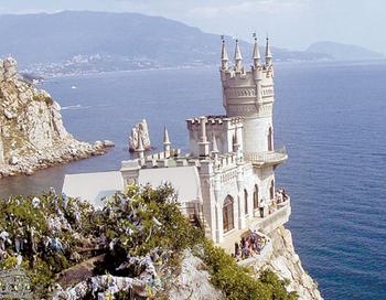 Ласточкино гнездо на Южном берегу Крыма. Фото с сайта www. stepdream.com