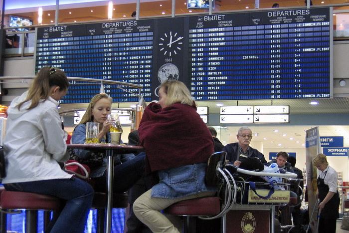 Московский аэропорт Шереметьево. Фото: ALEXANDER NEMENOV/AFP/GettyImages