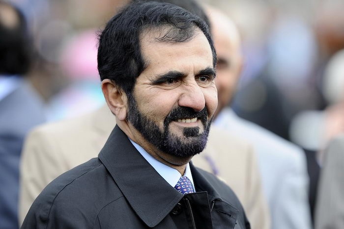 Шейх Мохаммед Бин Рашид Аль Мактум позирует на ипподроме, 5 мая 2012 года, Ньюмаркет, Англия. Фото: Alan Crowhurst/Getty Images