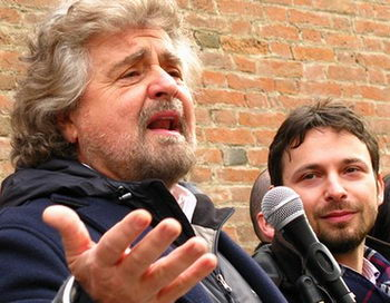 Грилло предсказал крах политической системы Италии. Фото с сайта flickr.com