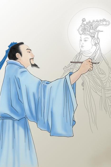 У Даоцзы - мудрый художник династии Тан. Фото: SM Yang/Великая Эпоха (The Epoch Times)