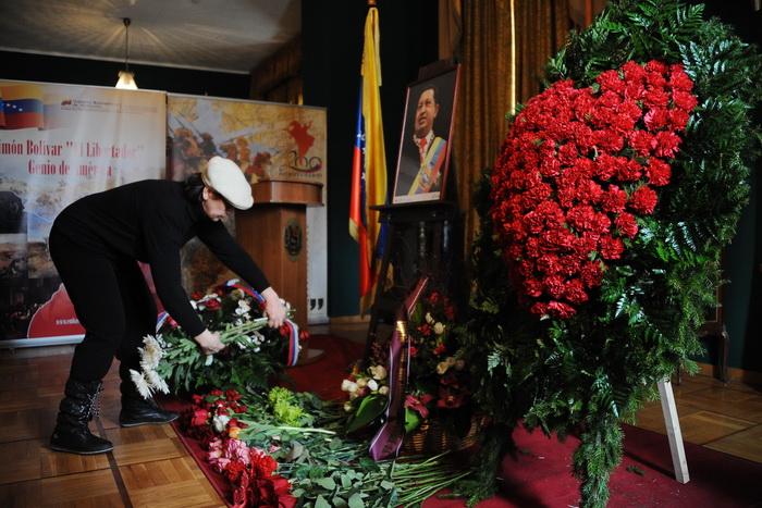 В Северной Осетии альпинисты предложили назвать в честь умершего президента Венесуэлы Уго Чавеса. Фото: NATALIA KOLESNIKOVA/AFP/GettyImages