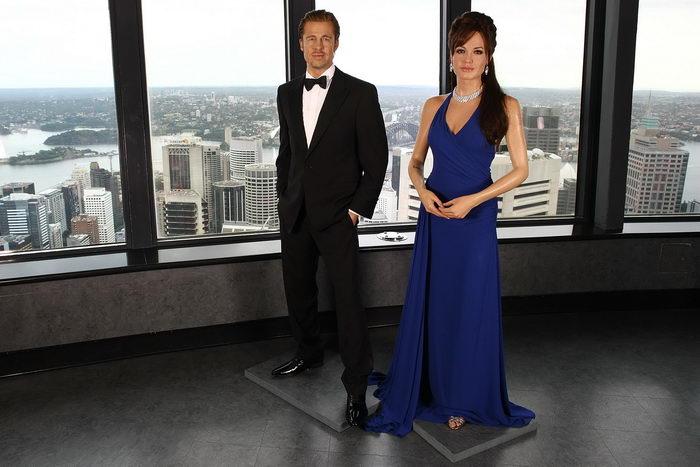 Анджелина Джоли и Брэд Питт. Фото: Brendon Thorne/Getty Images