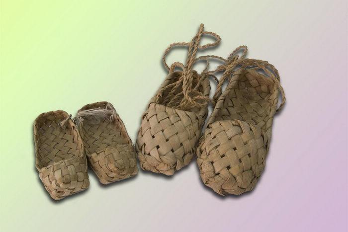 Русские лапти снова входят в моду. Фото с сайта museum.gixx.ru