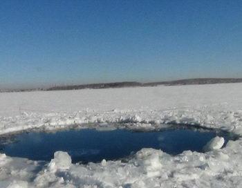 Водолазы не нашли обломков метеорита в Челябинском озере. Фото с сайта republic.com.ua