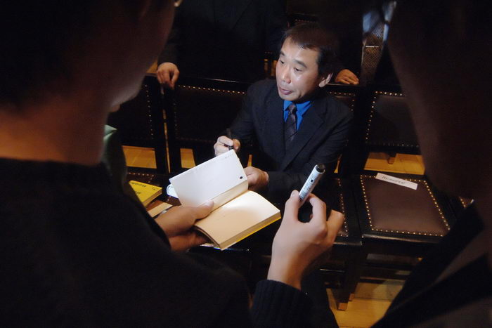 Харуки Мураками. Фото: MICHAL CIZEK/AFP/Getty Images