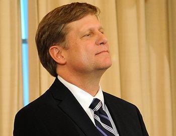 Посол США в России Майкл Макфол. Фото: Astrid Riecken/Getty Images