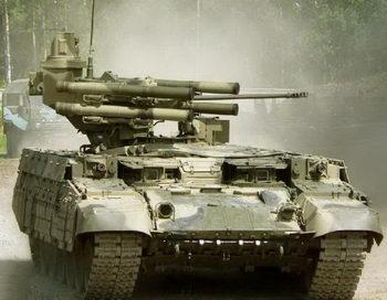 Российская боевая машина поддержки танков «Терминатор» может применяться в борьбе с терроризмом. Фото с сайта rnns.ru