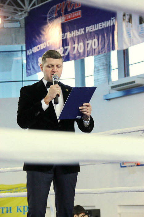 Директор турнира Вяткин В.Н. Фото: Александр Трушников/Великая Эпоха (The Epoch Times)