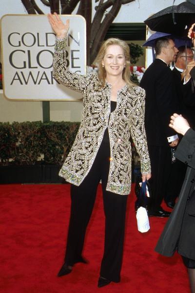 Мэрил Стрип. Актриса на церемонии вручения призов «Золотой глобус». 2000 год. Фото: Frank Micelotta/Getty Images